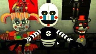 PLAY AS SECURITY PUPPET!! Five Nights at Freddy's 6 ROBLOX (FNAF 6)