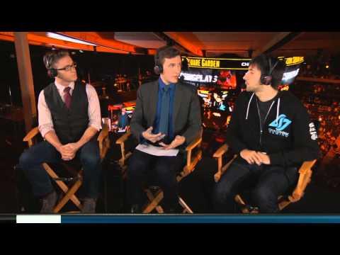 Hotshotgg Analyst Desk During Tip Vs Tl At Madison Square