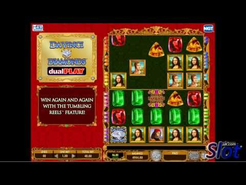 Da Vinci Diamonds Dual Play Slot Game Video