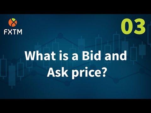 Forex bid y ask