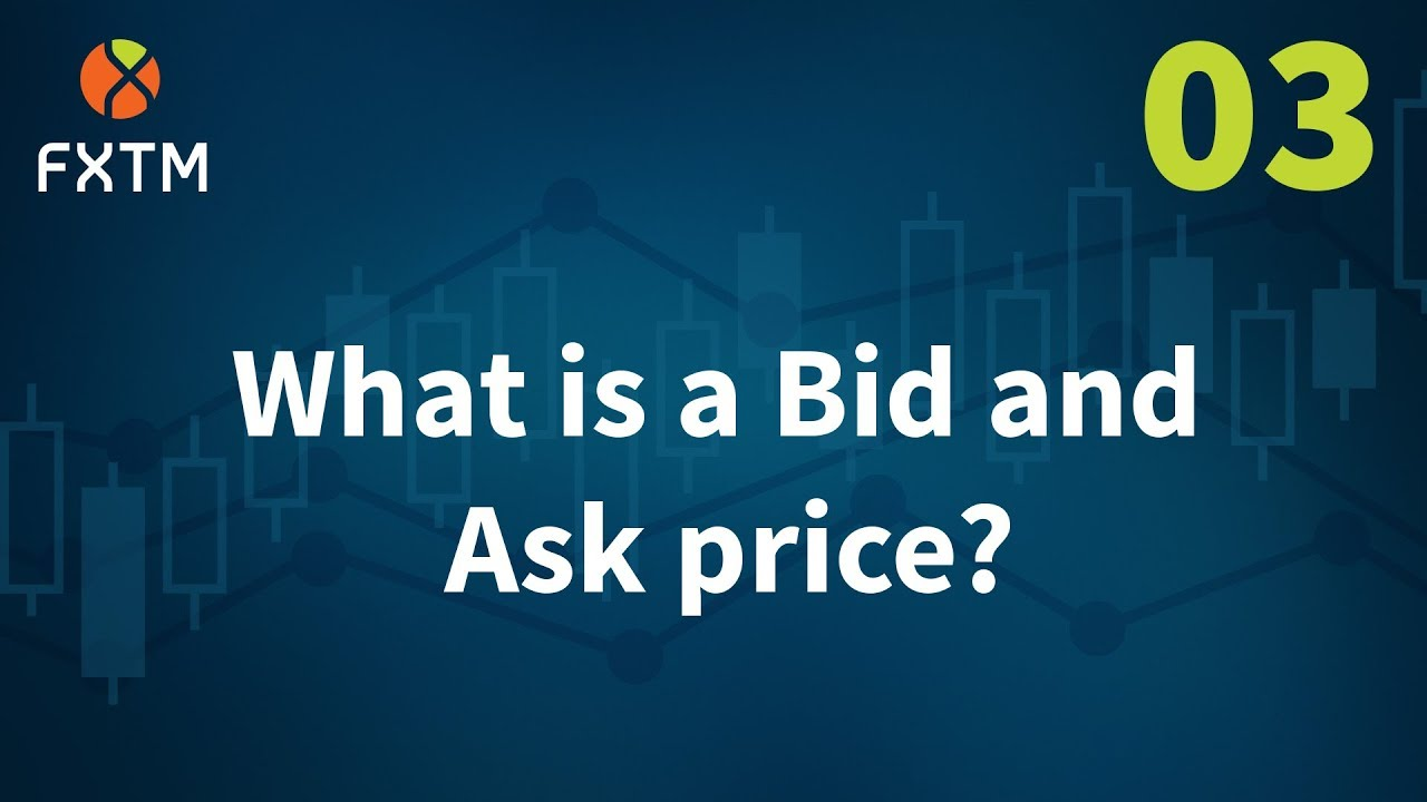 What is bid in forex