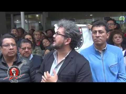 SME Movilización a la Secretaría de Hacienda 7jul17