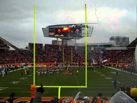 Heat Scalese at the  Jets vs. Bengals NFL Playoffs Game! attack of bengal fans....