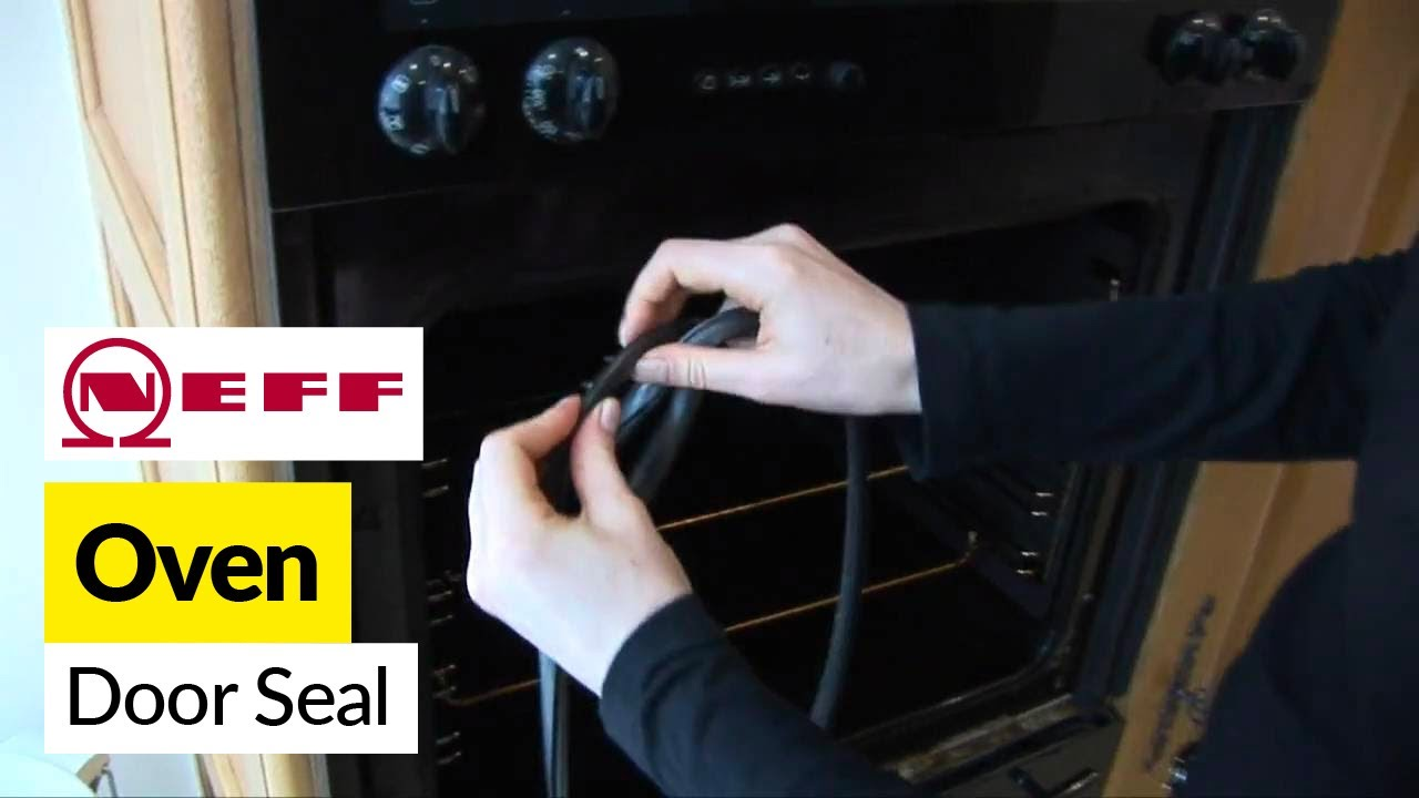 How To Replace An Oven Door Seal Espares