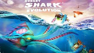 Hungry Shark Evolution - THE KRAKEN IS RELEASED - New Shark Unlocked