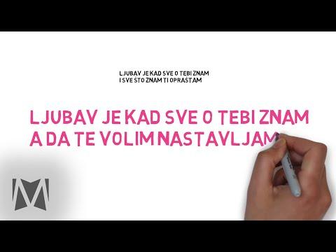 Dino Merlin - Sve do medalje (video backwall)