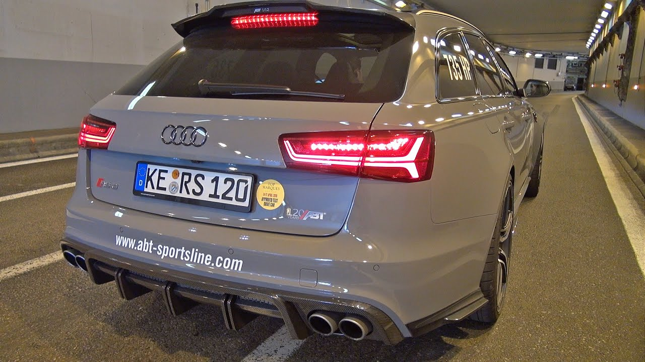 735hp Audi Rs6 Avant Abt 120th Anniversary Edition Youtube