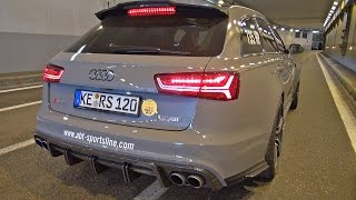 735HP Audi RS6 Avant ABT 120th Anniversary Edition!