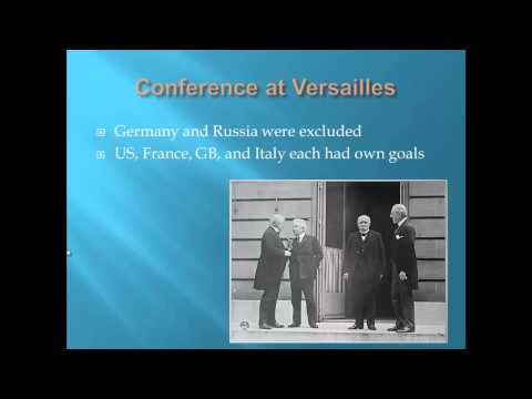APUSH Review: Wilson's Fourteen Points and The Treaty of Versailles