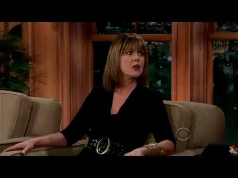 Pam Dawber on the Late Late  with Craig Ferguson 8th April 2014