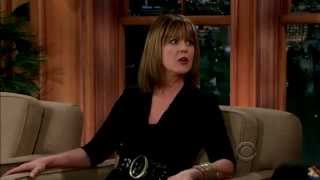 Pam Dawber on the Late Late Show with Craig Ferguson 8th April 2014