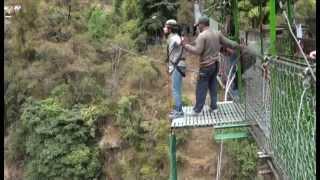 Bungee jump- Bhotekoshi, Nepal