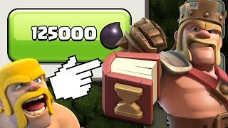 LEVEL 30 KING!  MAX HEROES!  TH9 Dark Elixir Time | Goblin Knife | Clash of Clans