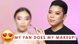 My fan does my makeup! I had so much fun filming this video with Dy...