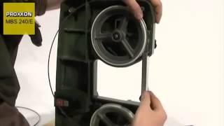 Обзор Ленточнопильный станок по металлу PROXXON MBS 240E