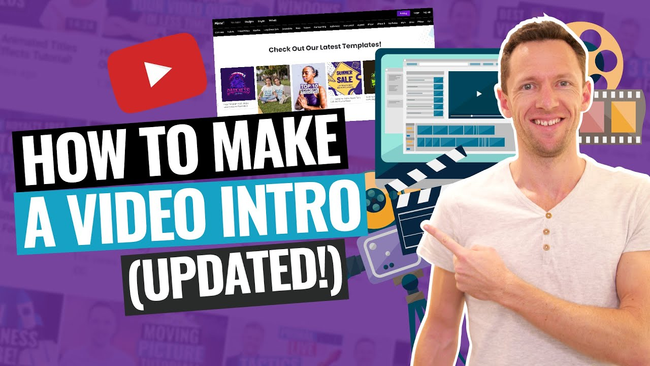 How To Make A Video Intro For Youtube Updated Tutorial Youtube