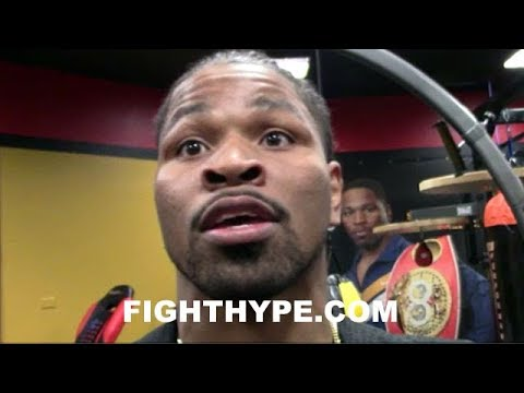 SHAWN PORTER REVEALS HOW HE WOULD FIGHT FLOYD MAYWEATHER; EXPLAINS WHY HE'S GLAD HE RETIRED