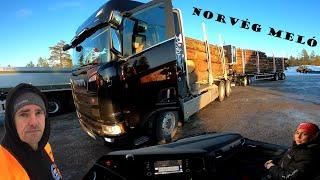 A kamionos Norvégiában -  A Scania, 60 tonna és Én