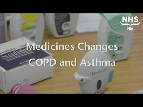 Medicines Changes COPD and Asthma