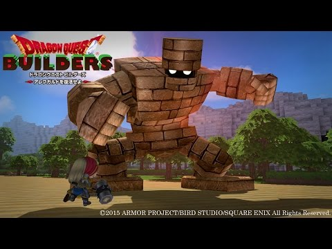 Download Youtube: Dragon Quest Builders: First Boss - Giant Golem