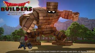 Dragon Quest Builders: First Boss - Giant Golem