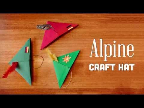 Wearable German Alpine Craft Hats