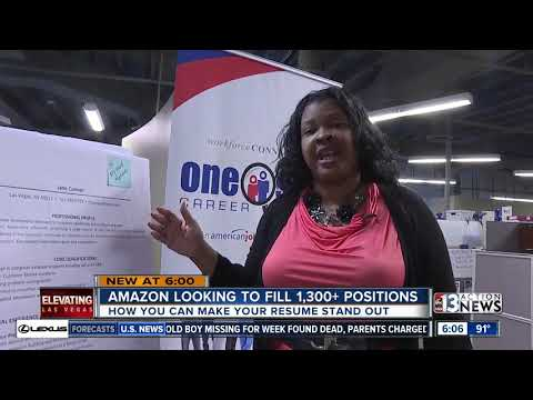 Amazon hiring over 1,300 positions at North Las Vegas facility