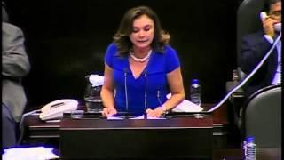 Dip. Beatriz Zavala (PAN) - Análisis del 1er Informe de Gobierno (política social)