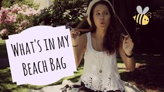 What's In My Beach Bag? | xoxoviva Thumbnail