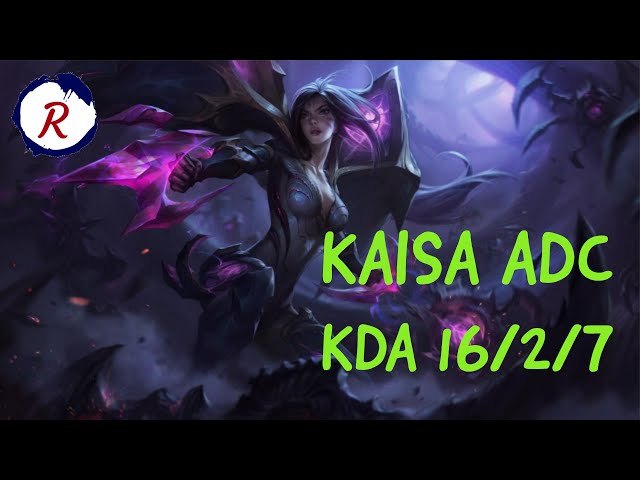 HOW TO CARRY KAISA ADC | LEAGUE OF LEGENDS