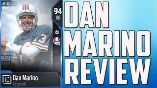How Good is 94 Overall Dan Marino? MUT 18 Player Review