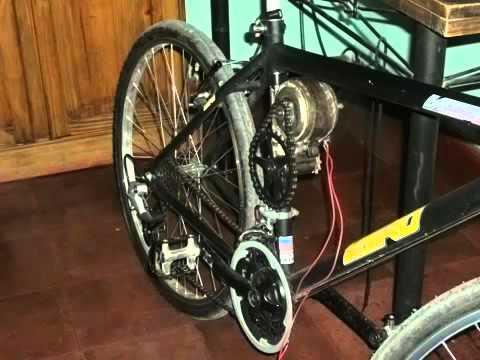 Bike Eletrica Caseira Mps 03 Youtube