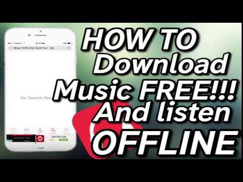 How To Download Music And Listen Without Wifi  For Free IPad/iPhone/iPod No PC No Jailbreak