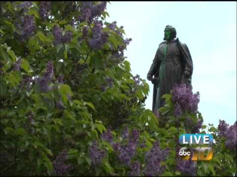 Surveillance aims to deter Father Marquette statue vandalism