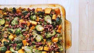 Roasted Fall Vegetable Medley  VEGAN THANKSGIVING Recipe