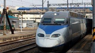 2019/12/15 【韓国高速鉄道】 KTX 029編成 鷺梁津駅   KORAIL: KTX 029 Set at Noryangjin