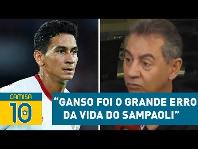 """GANSO foi o GRANDE ERRO da vida do Sampaoli"", detona Flavio"