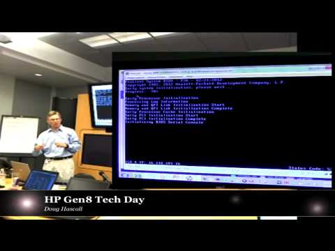iLo Management Engine for Gen8 Servers: Doug Hascall - HP Tech Day 5-7-12