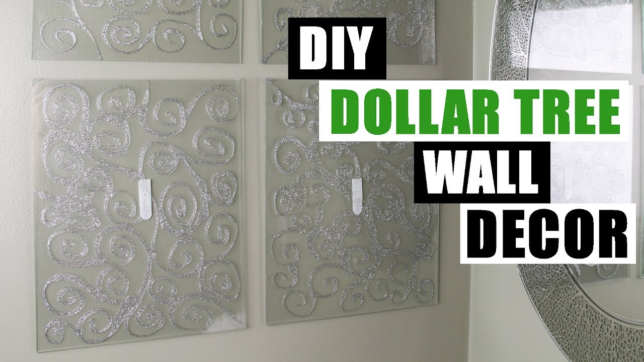 Diy Dollar Tree Glam Wall Dedcor Dollar Store Diy Bling Wall Decor