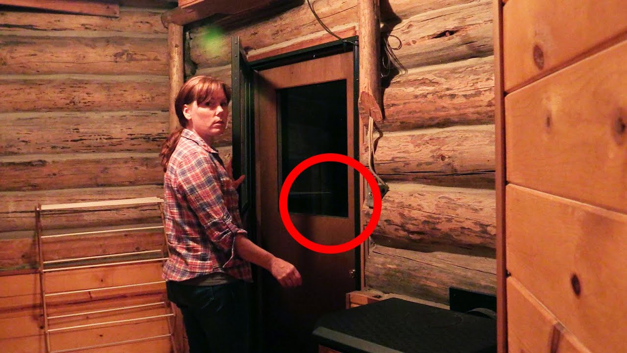 We Hear a Ghost! - Haunted Log Cabin ep 2 - Season 13 ...
