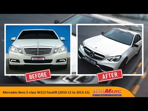 Mercedes Benz E Class W212 Facelift 2010 12 To 2013 15 Youtube