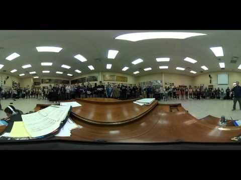 Bentonville High School Choir 360- 360 Video test EAST Initiative