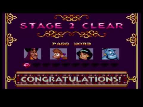 Disney's Aladin  snes - Gameplay/Detonado comentado