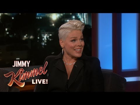 Guest Host Channing Tatum Interviews P!nk
