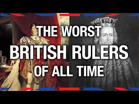 6 Worst British Rulers - Anglophenia Ep 8