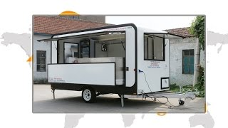 best quality food car food traile mobile food truck hot dog carts food van