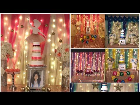 DIY-easy and elegant birthday decor DIY-birthday decor for boys and girls diy- b-day decor at home