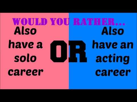 Dating would you rather