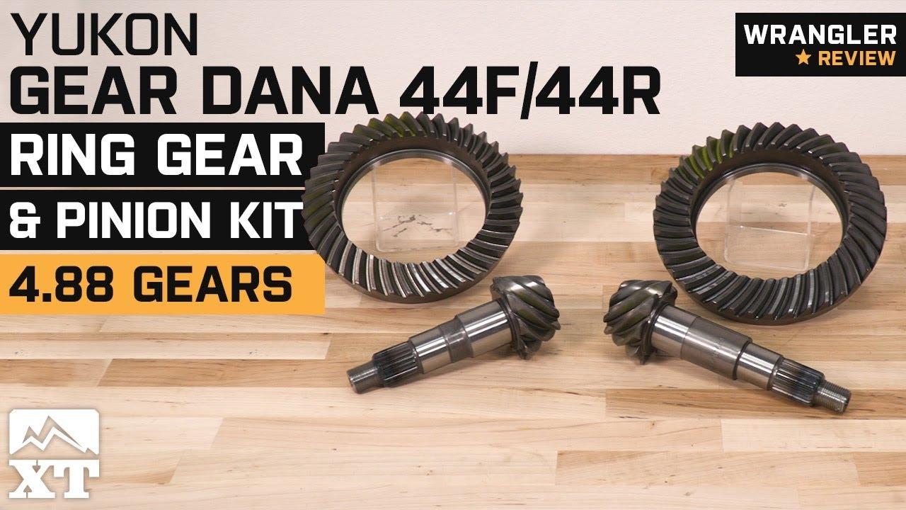 Jeep Wrangler Yukon Gear Dana 44F/44R Ring 4 88 Gear and Pinion Kit  (2007-2018 JK Rubicon) Review