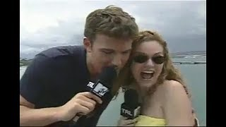 Ben Affleck Gropes Hilarie Burton On TRL: Apologizes, Rose McGowan Calls Harvey Weinstein Out